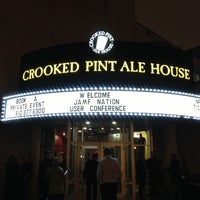 Photo taken at Crooked Pint Ale House by Larry H. on 10/25/2012