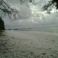 Photo taken at Pantai Romodong by don f. on 3/3/2013