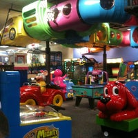Photo taken at Chuck E. Cheese's by Andrew C. on 2/14/2013