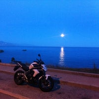 Photo taken at Cap Antibes by Nat&pier L. on 1/15/2014