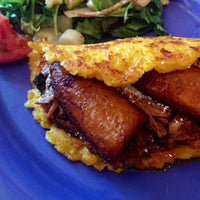 Photo taken at Pica Pica Arepa Kitchen by John Q. on 6/15/2013