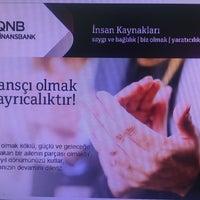 Photo taken at QNB Finansbank by Refika T. on 4/19/2017