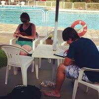 Photo taken at Quadras De Tenis Do Bela by Celso C. on 11/25/2012