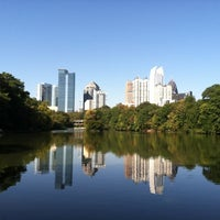 Photo taken at Piedmont Park by Marce_AZ on 11/30/2012
