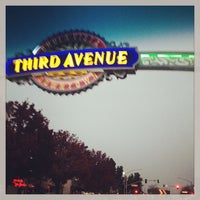 Photo taken at Third Ave Sign by Diandra M. on 12/17/2012