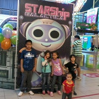 Photo taken at Starship Galactica by Hanie T. on 10/12/2013