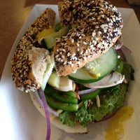 Photo taken at Bagels Plus by Betsey W. on 10/19/2013