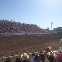 Photo taken at Clovis Rodeo Grounds by Holly C. on 4/28/2013