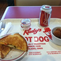 Photo taken at Rudy's Hot Dog by Teasha F. on 5/25/2014