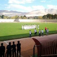 Photo taken at Niğde 5 Şubat Stadyumu by Onur Ş. on 9/29/2013