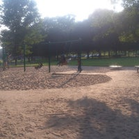 Photo taken at Elmwood Park Playground by Injohneer on 7/2/2013