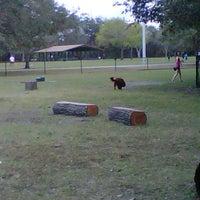 Photo taken at Al Lopez Dog Park by Sarah C. on 1/21/2013
