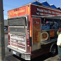 Photo taken at El Tonayense Taco Truck by Mike S. on 9/27/2012