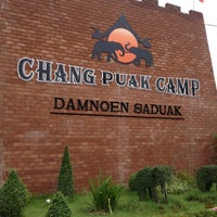 Photo taken at Chang Puak Camp by Avegaile V. on 6/25/2013