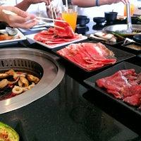 Photo taken at AKA USHI - Japanese Grill & Sushi by Sangy F. on 5/31/2013