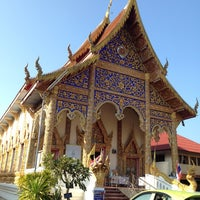 Photo taken at วัดพระเนตร by Wanida T. on 1/1/2014