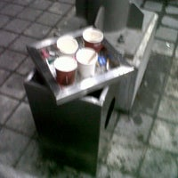 Photo taken at 5/F Vector One Smoking Area Northgate Cyberzone by RianDarren D. on 12/27/2012