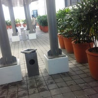 Photo taken at 5/F Vector One Smoking Area Northgate Cyberzone by RianDarren D. on 2/18/2013