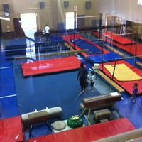 Photo taken at Wanderers Gymnastics Centre by Zaid J. on 9/8/2014