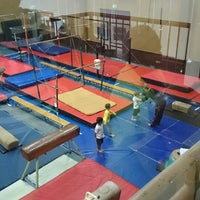 Photo taken at Wanderers Gymnastics Centre by Zaid J. on 3/3/2014