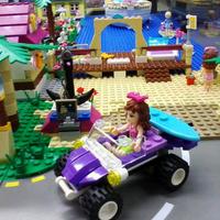 Снимок сделан в GameBrick. музей-выставка моделей из кубиков LEGO пользователем Vladimir G. 11/7/2013