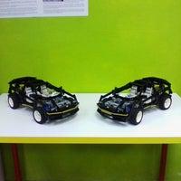 Снимок сделан в GameBrick. музей-выставка моделей из кубиков LEGO пользователем Vladimir G. 10/28/2013