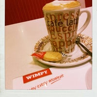 Photo taken at Wimpy by Richard S. on 1/5/2013