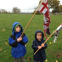 Photo taken at Bosworth Battlefield Heritage Centre & Country Park by Matthew D. on 10/31/2012