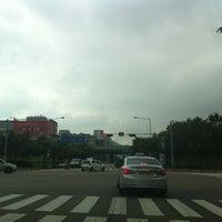 Photo taken at 중앙역주차장교차로 by eAsTiN🎗 S. on 7/18/2013
