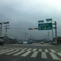 Photo taken at 상장교차로 by eAsTiN🎗 S. on 11/19/2013