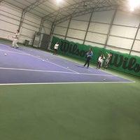Photo taken at DSİ Tenis Kortları by Merve A. on 4/22/2017