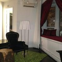 Photo taken at Hôtel Chez Swann by Adam C. on 6/23/2013