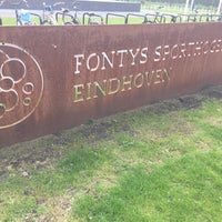 Photo taken at Fontys Sporthogeschool by Frank W. on 4/14/2016