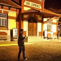 Photo taken at Trem das Águas by Leonardo M. on 5/24/2014