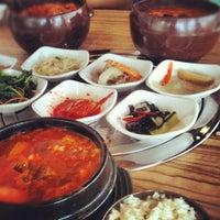 Photo taken at Da Sa Rang Korea BBQ Restaurant by Eric O. on 10/3/2012