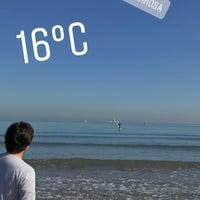 Снимок сделан в Playa Malvarrosa De Corinto пользователем Doğukan Ç. 1/30/2018