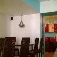 Photo taken at The Indian Kaffe Express by Chaitra S. on 5/2/2014