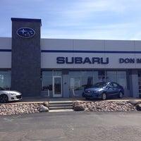Photo taken at Don Miller Subaru East by David S. on 4/2/2014