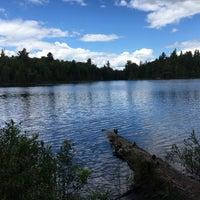 Photo taken at Algonquin Provincial Park - West Gate by Dasha U. on 6/24/2017