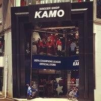 4/18/2013にWee S.がサッカーショップKAMO 渋谷店で撮った写真