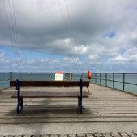 Photo taken at Aberystwyth Beach by C L. on 8/17/2017
