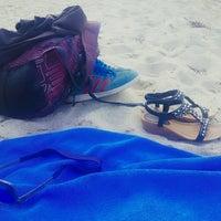 Photo taken at Livadi Beach by Gezgin Kız 🐈 . on 7/26/2016