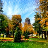 Photo taken at Hermitage Garden by Vlad B. on 10/2/2012