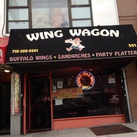 Photo taken at Wing Wagon by Jay T. on 9/29/2014