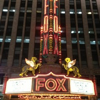 Photo taken at Fox Theatre by Jay T. on 1/26/2013