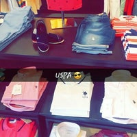 Photo taken at U.S. Polo Assn. by Samet G. on 4/10/2016