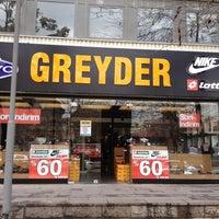 Photo taken at GREYDER Kolej Mağazası Çokkatlı Otopark Çarşı by Kadir ö. on 4/12/2014