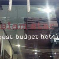 Photo taken at Siam Star Hotel Pratunam by Vivienne G. on 6/16/2015