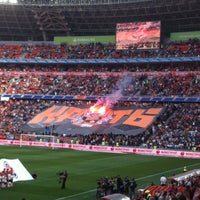 Photo taken at Donbass Arena / Донбасс Арена by Johnny on 4/28/2013