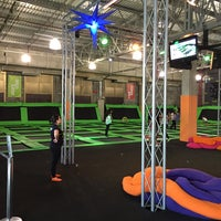 Photo taken at Jump Mania by Julio A. on 5/7/2016